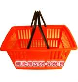 Giỏ xách siêu thị quai nhựa PW610