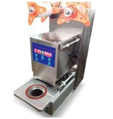 Máy dán miệng cốc tự động KUNBA FG-100III