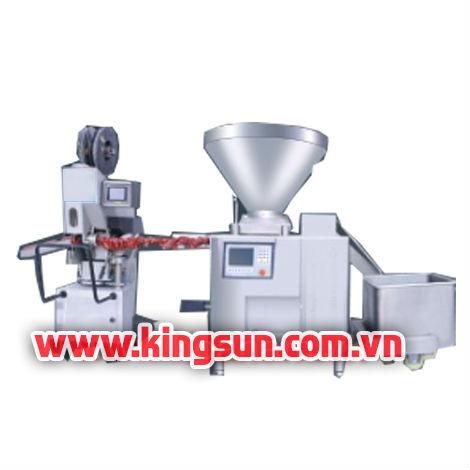 Máy đùn và kẹp nhôm xúc xích KS-01