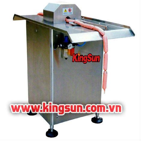 Máy buộc xúc xích đơn bán tự động KS-FXZG-1