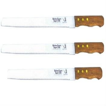 Dao cắt bánh ga tô lưỡi răng cưa to KS-77