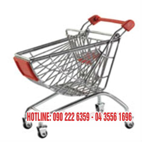 Xe đẩy siêu thị dạng lưới KS-GSM-007