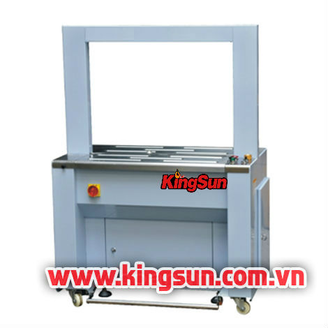 Máy đóng đai thùng tự động với bộ cảm biến AP8060A