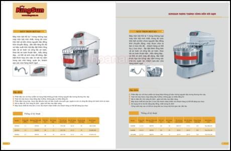 Catalog máy trộn bột
