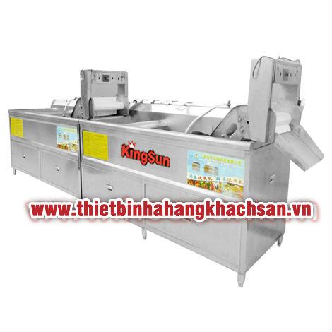 Máy rửa rau quả công nghiệp