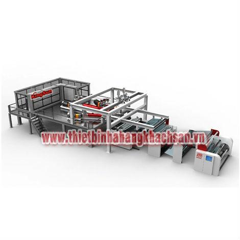 Tổ máy kéo màng coextrusion 3 tầng ML