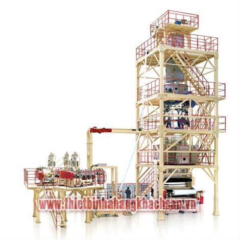 Tổ máy thổi co màng nhiệt Coextrusion (POF)