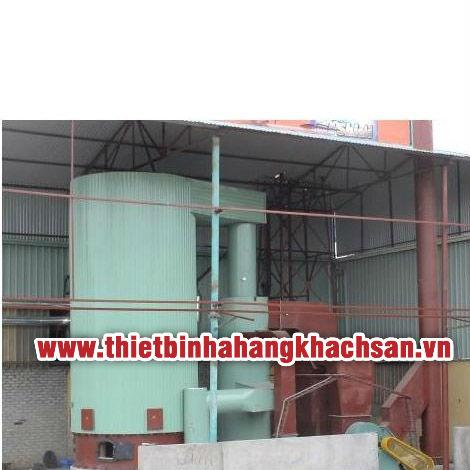 Lò tải nhiệt đốt than và củi