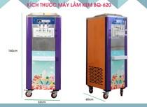Máy làm kem Jingling BQ-2016 (BQ620) tiết kiệm điện
