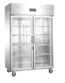 Tủ bảo ôn 2 cánh kính 2 chế độ đông và mát