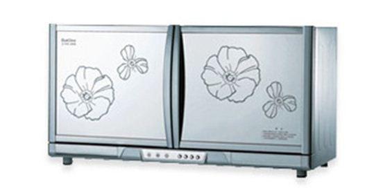 Tủ sấy bát Komasu ZLP68-2 loại treo kính hoa/gương
