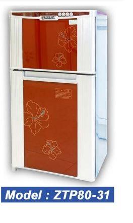 Tủ sấy bát Komasu ZTP80-31 kính hoa/ gương tủ đứng