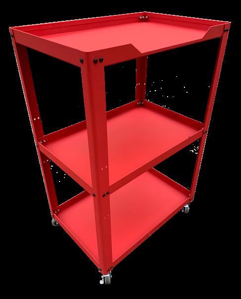 Xe để dụng cụ 3 ngăn OKASU N0R3 (Đỏ)