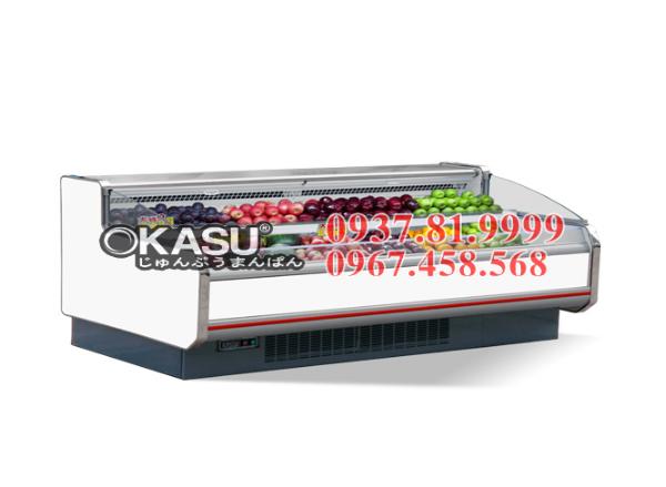 Tủ mát trưng bày siêu thị OKASU-14FA -2,5M