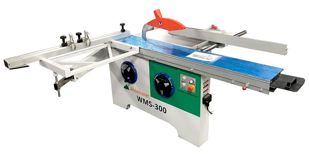 Máy cưa bàn trượt mini nghiêng trục Woodmaster WMS-300
