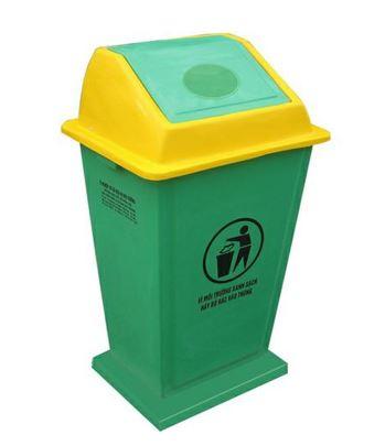 Thùng đựng rác công cộng cố định PG-EX049