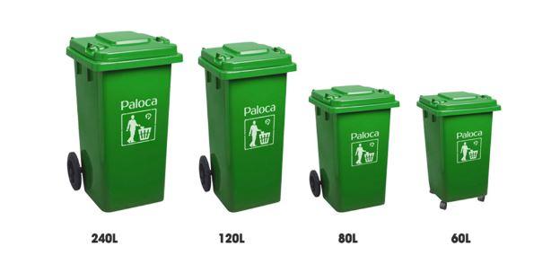 Thùng rác công cộng Hà Nội CCHN