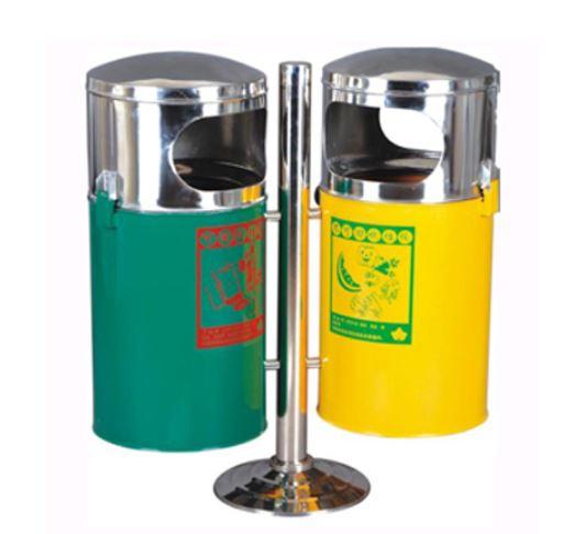 Thùng rác inox treo đôi PG-EX024