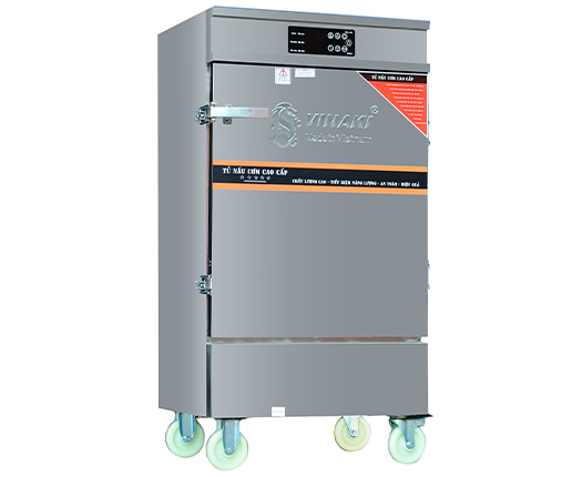 Tủ Nấu Cơm Điện 12 Khay Hẹn Giờ Atomat Và Chế Độ Ủ Giữ Nhiệt OKASU VI-D12KHU