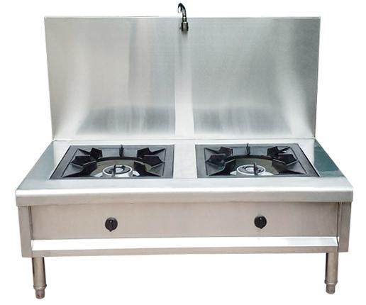 Bếp Hầm Đôi Okasu 2 Bếp 1 Vòi Nước BH-2B1V