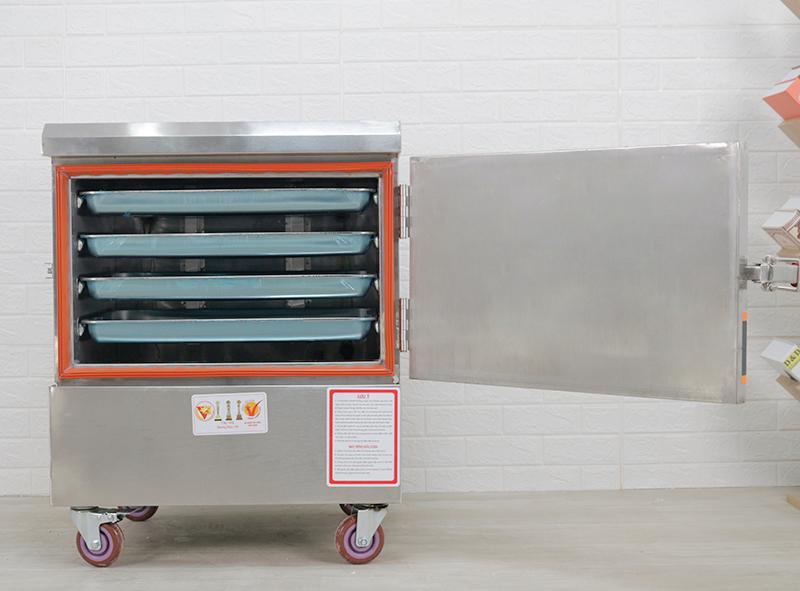 Tủ nấu cơm 4 khay dùng điện KN-THVNĐ4K (20kg gạo/lần)