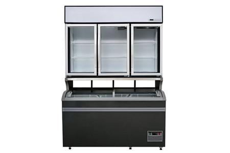 Tủ trưng bày siêu thị dưới đông, trên mát Kolner ZMG120H