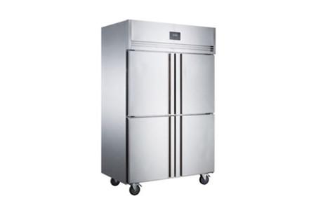 Tủ mát 4 cánh Inox Kolner NKC1.0L4 (Lạnh trực tiếp)