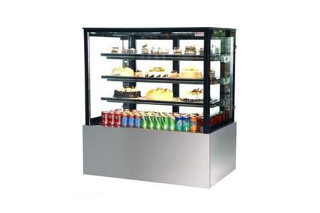 Tủ trưng bày bánh kem kính vuông 900mm Kolner SL830V