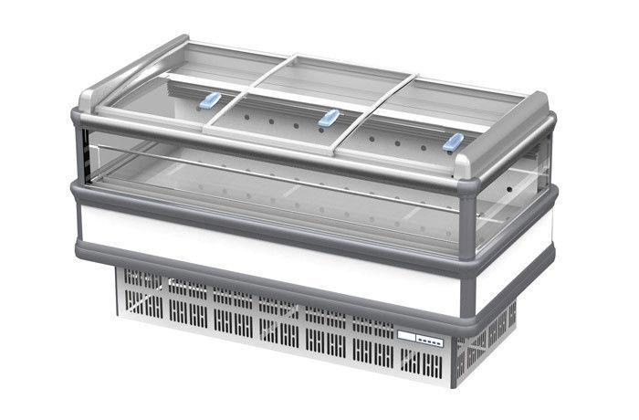 Tủ đông trưng bày 4 mặt kính SWD-2000FY