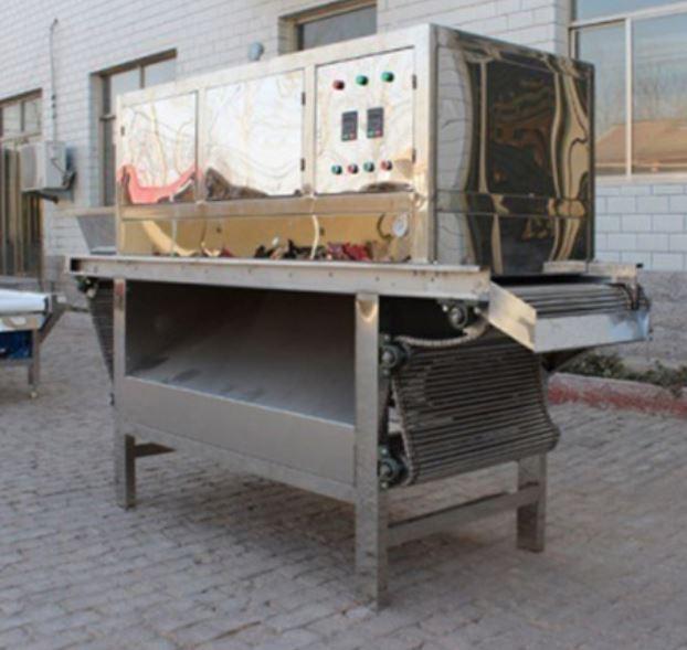 Máy bóc vỏ tỏi băng tải khí nén RYL-1000
