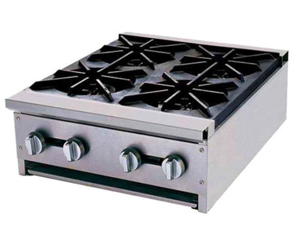 Bếp âu 4 họng dùng gas GHP-24