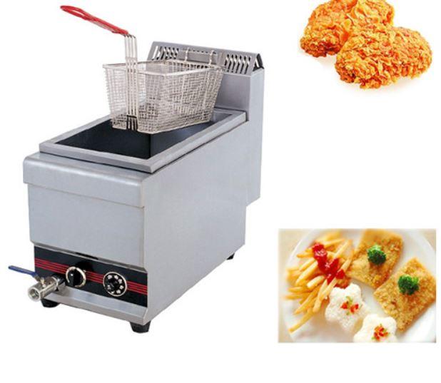 Bếp chiên đơn dùng gas loại 1 chảo, 1 giỏ WAA770-1