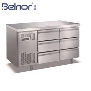 Bàn lạnh 6 ngăn kéo Belnor TC0.3N6W