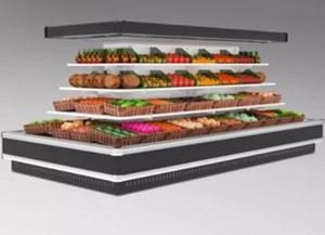 Tủ trưng bày và bảo quản thực phẩm siêu thị Kolner KNVMR-R