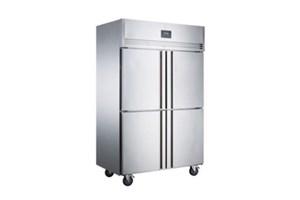 Tủ đông mát 4 cánh Inox Kolner NKCD1.0L4W (Lạnh quạt gió)