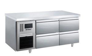 Bàn mát 4 ngăn kéo inox Kolner BN14-XD4 (Làm lạnh quạt gió)
