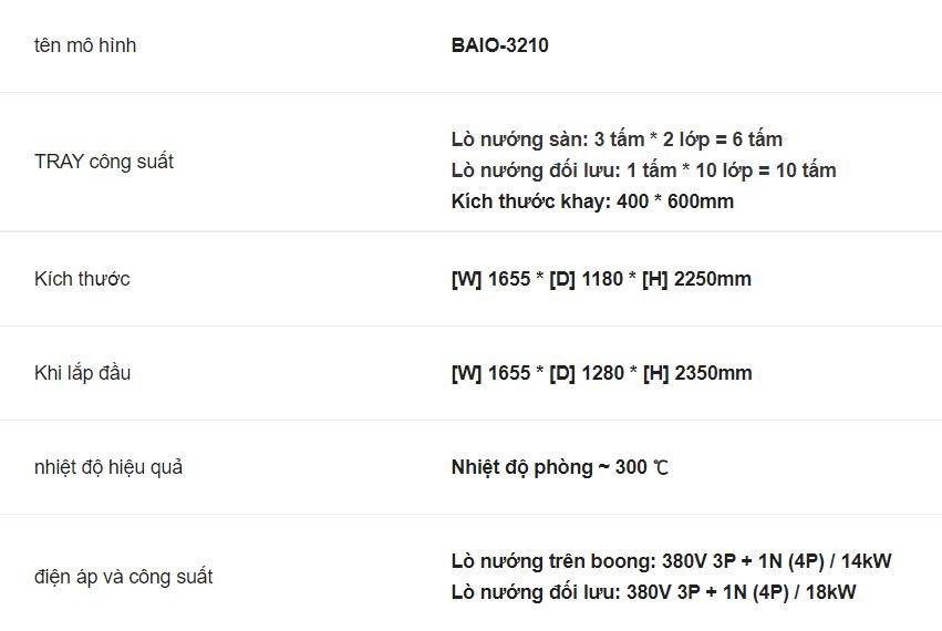 lo nuong da nang bresso baio-3210 hinh 0
