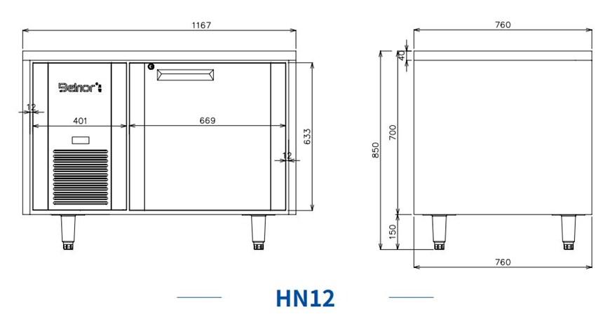 ban mat 1 canh inox kolner hn12 (lam lanh quat gio) hinh 0